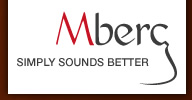 logo: mberg - simple sounds better